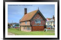 Aldeburgh Suffolk, Framed Mounted Print