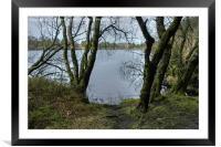 Venford Reservoir, Framed Mounted Print