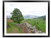 St. Johns in the Vale                         , Framed Mounted Print