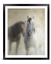 Best Buddies, Framed Mounted Print