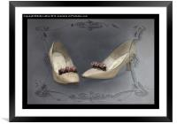 These Shoes Used to Dance, Framed Mounted Print