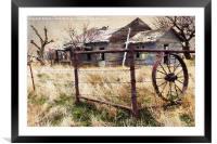 Homestead, Framed Mounted Print