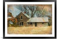 Empty Nest Syndrome, Framed Mounted Print