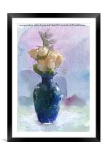 A Touch of Beauty, Framed Mounted Print