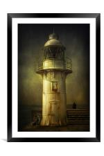 Lights Out, Framed Mounted Print