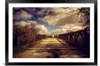Sheep Bridge, Framed Mounted Print