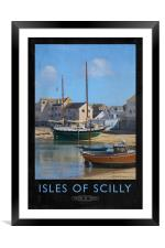 Isles of Scilly, Framed Mounted Print