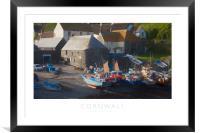 Cornwall, Framed Mounted Print