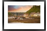 Pembrokeshire, Framed Mounted Print