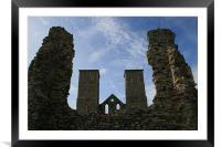 Reculver Castle, Framed Mounted Print