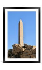 Karnak Temple 28, Framed Mounted Print