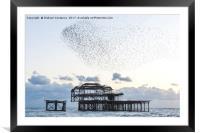 Brighton West Pier, Framed Mounted Print