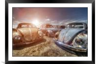 Bugs in the Sun, Framed Mounted Print