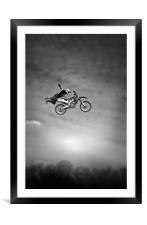 Flying High, Framed Mounted Print