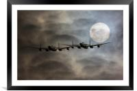 Bombers Moon, Framed Mounted Print