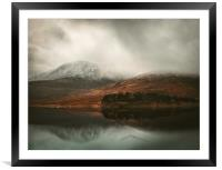 Highland View, Framed Mounted Print