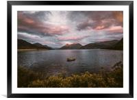 Loch Leven, Framed Mounted Print