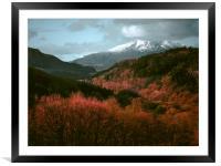 Snowdonia.                , Framed Mounted Print