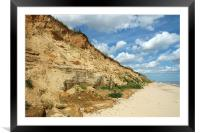 Covehithe Beach in Summer, Framed Mounted Print