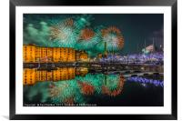 Liverpool River Of Light, Framed Mounted Print