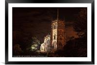 St.Marys Church Kidderminster, Framed Mounted Print