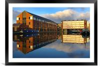 Victoria Quays,Sheffield, Framed Mounted Print