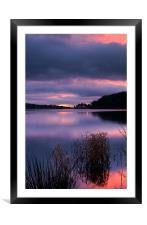 Damflask Sunrise, Framed Mounted Print