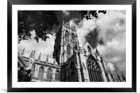 St Georges Church,Doncaster, Framed Mounted Print
