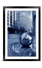 Millennium Square, Sheffield, Framed Mounted Print
