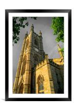 St Marys Church, Bramall Lane,Sheffield, Framed Mounted Print