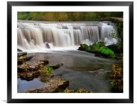 Monsal Weir, Framed Mounted Print