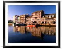 Plymouth, The Barbican, Framed Mounted Print