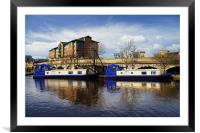 Victoria Quays, Sheffield, Framed Mounted Print