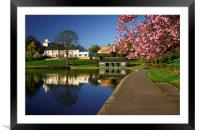 Crookes Valley Park, Framed Mounted Print