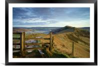 Gateway Along The Great Ridge , Framed Mounted Print
