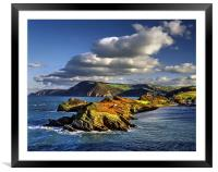 Watermouth Cove, North Devon , Framed Mounted Print