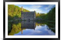 Gibson Mill, Hardcastle Crags, Hebdon Bridge , Framed Mounted Print