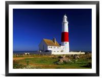 Portland Bill Lighthouse, Framed Mounted Print