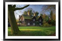 Arbourthorne Cottages , Framed Mounted Print