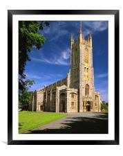 Holy Trinity Church, Exmouth, Framed Mounted Print