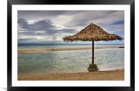 Bantayan Island Beach , Framed Mounted Print