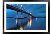 Marcelo Fernan Bridge , Framed Mounted Print