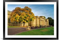 Weston Park Museum in Autumn, Framed Mounted Print