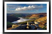 Ladybower & Derwent Valley, Framed Mounted Print