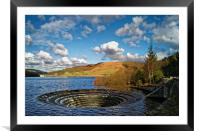 Ladybower Sinkhole, Framed Mounted Print