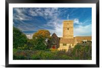 St Marys Church, Swanage, Framed Mounted Print