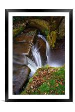 Lumsdale Falls, Framed Mounted Print