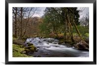 River Rothay                               , Framed Mounted Print