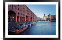 Albert Dock, Liverpool                            , Framed Mounted Print