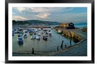 Lyme Regis Harbour                      , Framed Mounted Print